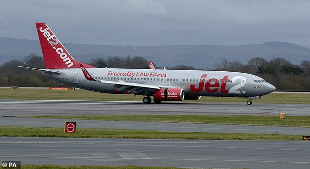 Jet2 is allowing customers planning on travelling up to or on November 30 to amend the date of their booking without an added change fee (file image)