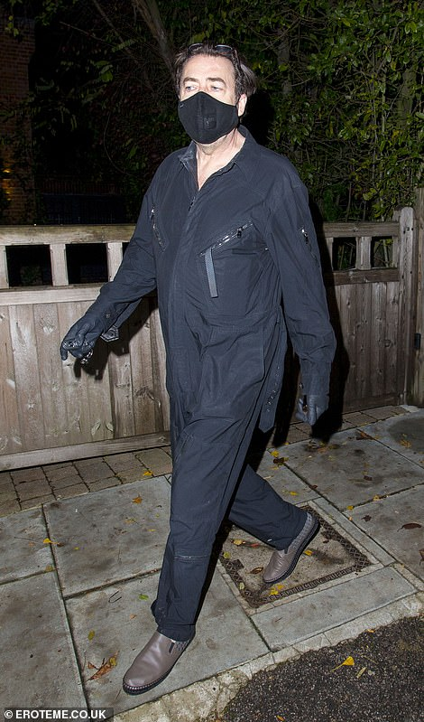 Stars: Guests at Jonathan's Halloween party last year included Holly Willoughby, David Wallaims, Davina McCall and Liam Payne
