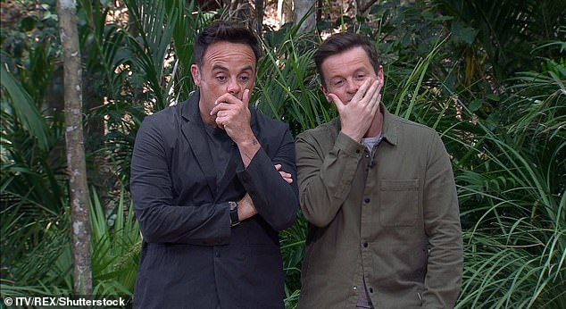 Spooky: The ITV show, hosted by Ant McPartlin and Declan Donnelly (pictured), was forced to move from the jungles of Australia to the chilly climes of the UK due to the Covid pandemic