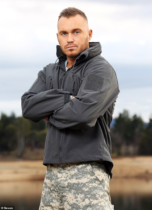 Brutal: Just last week, Eden said the military-style show couldn't be further from his past experiences with reality television, in an interview with Daily Mail Australia