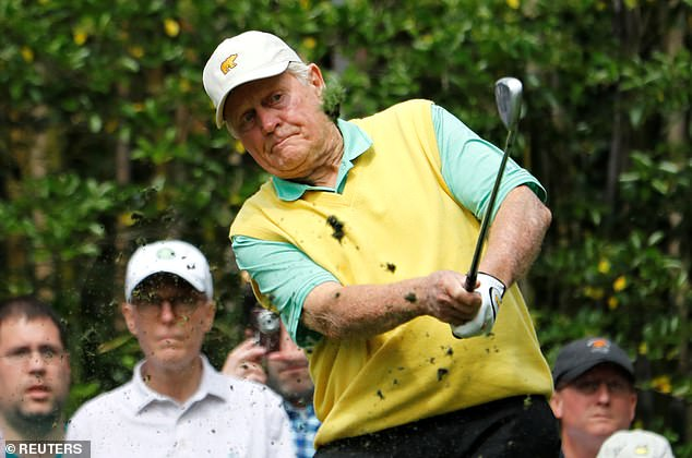 Jack Nicklaus (pictured) praised President Trump's pandemic response and admitted he doesn't know 'whether anybody could have done any different than what [Trump has] done on the [coronavirus pandemic]'