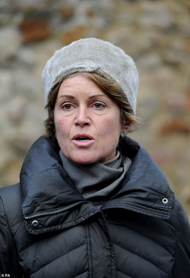 Chairman of Aintree Racecouse Rose Paterson. The wife of Conservative former cabinet minister Owen Paterson