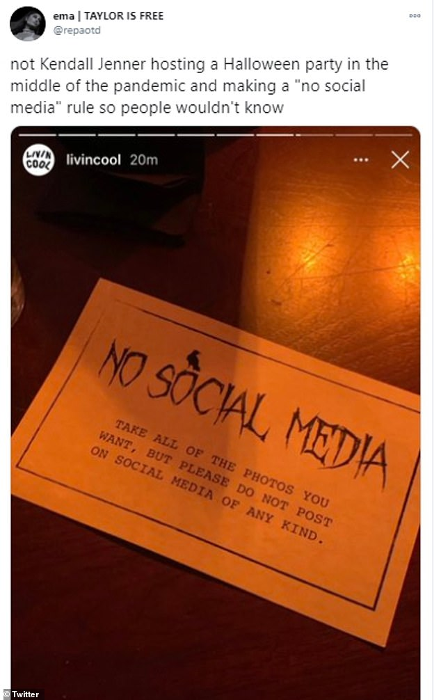 Details: Guests appeared to ignore Kendall's 'no social media' rule as her family members treated fans to a inside peek at the festivities