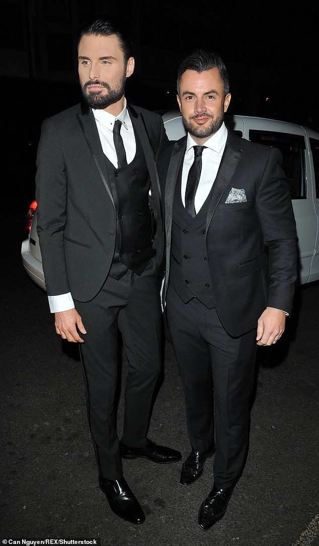 Children may be on the horizon for presenter Rylan Clark-Neal who married husband Dan Neal, a former Big Brother contestant, in 2015. Pictured, the couple together in 2017