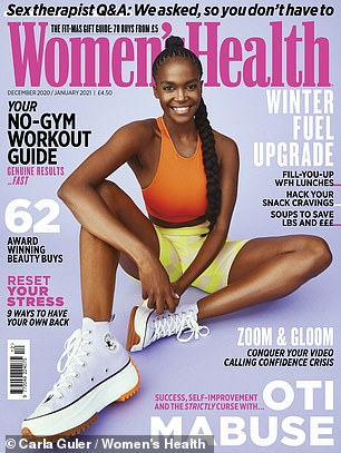 Read the full Oti Mabuse interview in the Dec/Jan issue of Women's Health UK, on sale from 4 November 2020