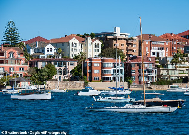 Sydney's population plunged by 6,000, with 4,000 people draining from New South Wales (Sydney pictured)