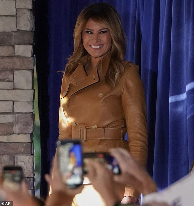 Topics: Melania spoke about the COVID-19 pandemic, saying Democrats were using fear tactics to scare the public and plant doubt about the safety of a vaccine