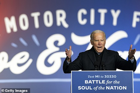 All about Michigan: Joe Biden campaigned with Barack Obama in Detroit on Saturday. Democrats are determined not to see a repeat of the 2016 upset