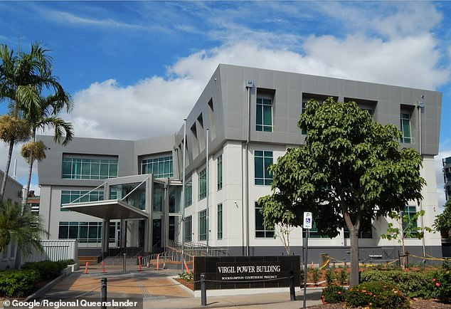 A 20-year-old man from Gracemere in Central Queensland has been charged with a litany of sex crimes including rape and using the internet to procure a child under 16 (pictured, Rockhampton Magistrates Court)
