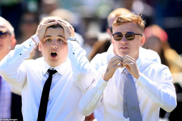 The Melbourne Cup is famously known as Australia's biggest horse race and is held annually in Melbourne, but this year the crowd action was in Sydney (pictured, Royal Randwick race course)