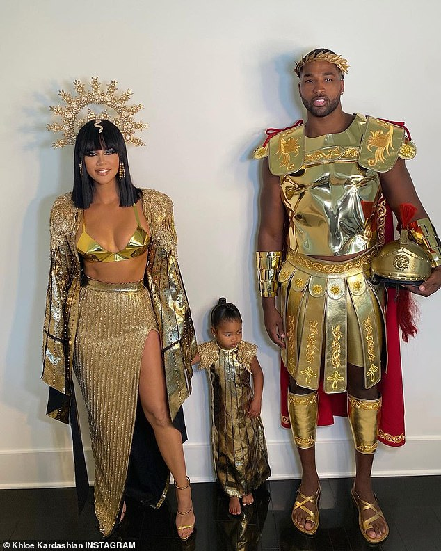 All for her:'Their focus is True and they keep doing fun family activities together. Khloe really believes that things will continue to be great even after Tristan has to return to work.,' revealed a source to People