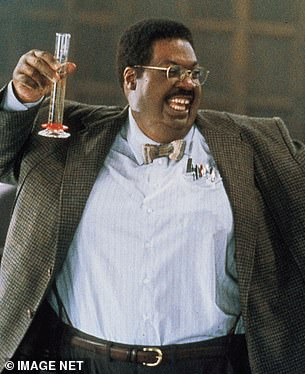 Iconic: Eddie Murphy as his character in The Nutty Professor 2