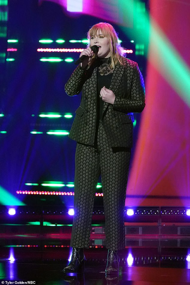 Unique rendition:Kelly Clarkson then filled her team by choosing Emmalee, a 20-year-old gigging musician from Clarksville, Tennessee, who'd sung a stripped-down version of Whitney Houston's How Will I Know