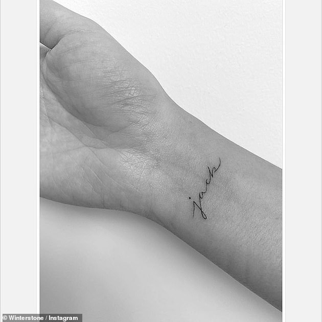 Artistic:Their appearance comes after John revealed he has gotten a matching tattoo with wife Chrissy in honor of Jack, who they lost on September 30