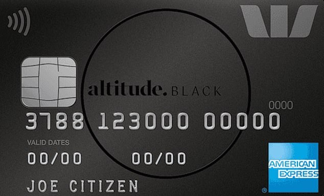Westpac's Altitude Black card charges 20.49 per cent interest per annum - the highest of the major banks - and levies a $250 annual fee