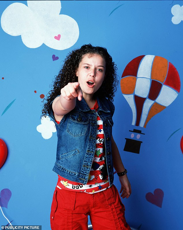 Jacqueline's breakthrough in children's literature was with The Story of Tracy Beaker (pictured) back in 1991, which followed Tracy living in a children's residential care home nicknamed the 'Dumping Ground,' before getting fostered by author Cam