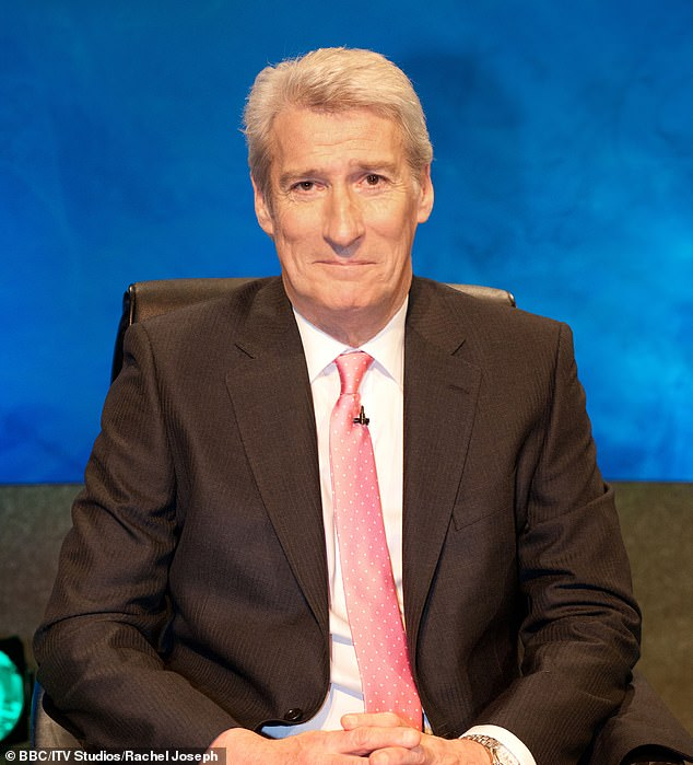 Away with the short back and sides! Paxman as he normally looks, without his horn-rimmed specs and longer hair