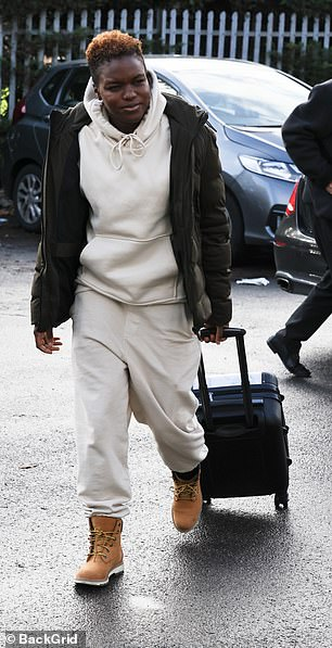 Busy bees: Nicola Adams (pictured) and Katya Jones ensured they maintained their great start on Strictly Come Dancing as they headed to rehearsals at a London studio on Tuesday morning
