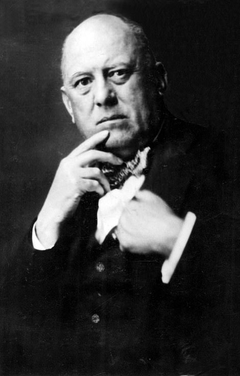 Satanist and real life 'Wicker Man'Aleister Crowley