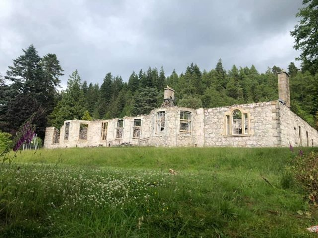 Plans have been submitted to turn Boleskine House, on the shores of Loch Ness in Scotland, into 10 holiday 'twin units'