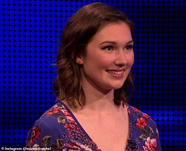 Rachel Warwick, from Hampshire, featured on an episode of the ITV quiz show which aired on October 5