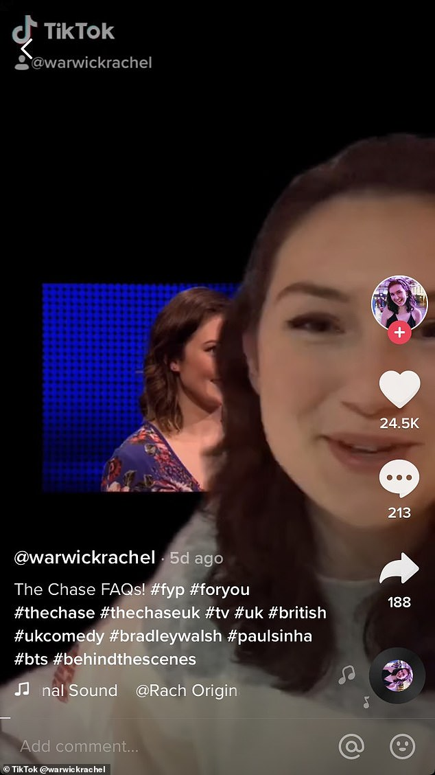 Rachelwent on to address additional questions in the comments section of her video, which has been watched more than 210,500 times