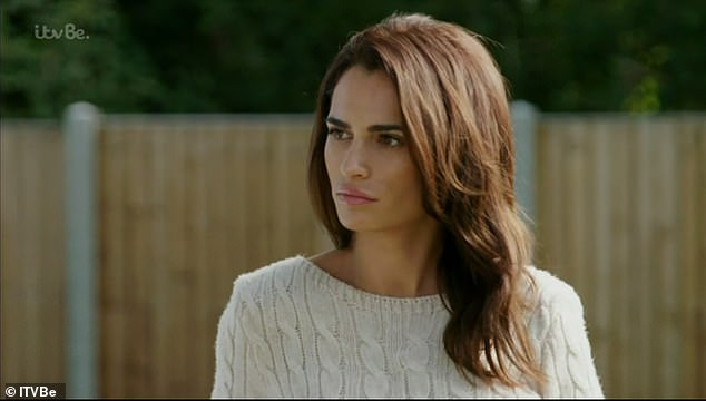Tensions:Things kicked off on last weekend's episode of TOWIE when Nicole Bass branded Amber 'vile, rude and b****y' following their explosive street row over Yazmin