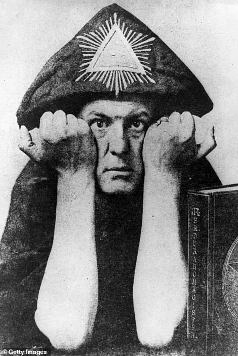 Crowley, who was born into an upper-class British family, styled himself as 'the Great Beast 666'
