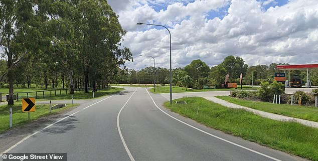 Mr MacNellie had been riding near the corner of Greenbank Road, in North Maclean just south of Brisbane before the accident