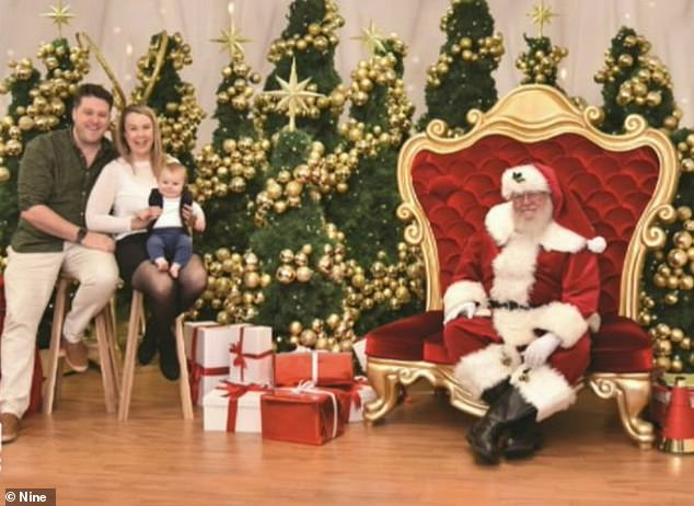 In order to keep everyone safe, all those wanting a Christmas photo will have their temperature checked and seated 1.5m away from Santa