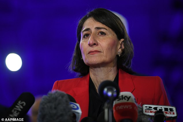 NSW Premier Gladys Berejiklian (pictured above) is looking to open the border to Victorians from November 23