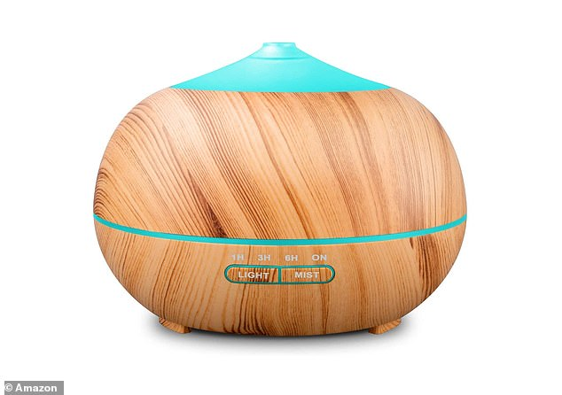 Reviewers claim the Tenswall Essential Oil Diffuser helps support a restful night's sleep