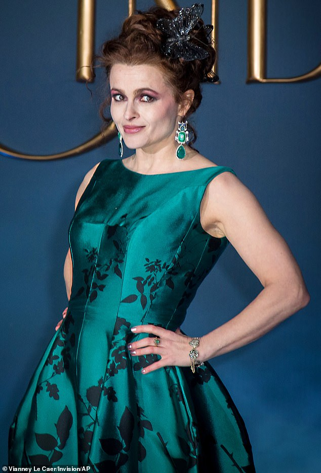Candid: Helena Bonham Carter has given a rare insight into her split from ex Tim Burton six years after they announced they went their separate ways