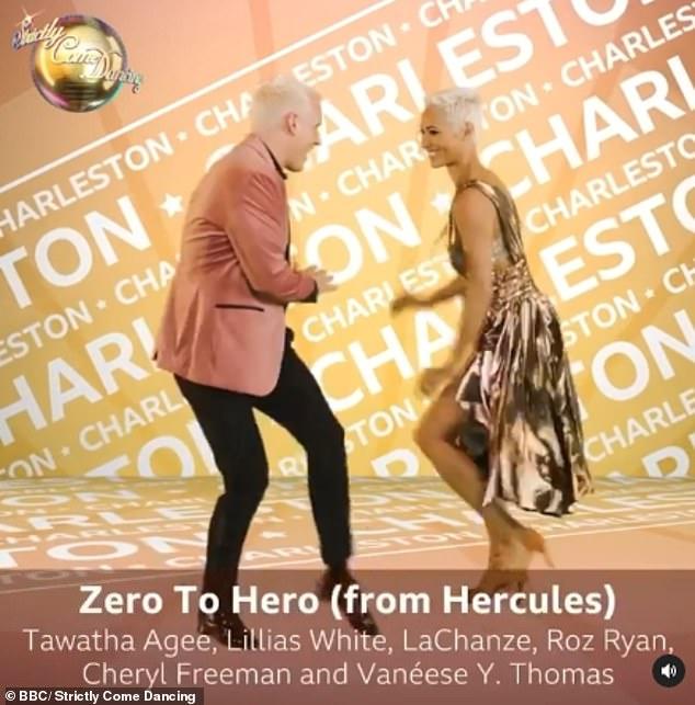 Zero to Hero: Former Made In Chelsea star will perform the Charleston to Zero To Hero from Hercules with his partner Karen Hauer