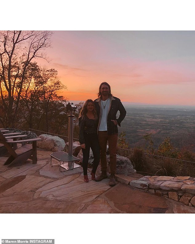Her true love: The 30-year-old Texas native was seen with her country crooner husband Ryan Hurd with whom she shares a son named Hayes; it was his 34rd birthday