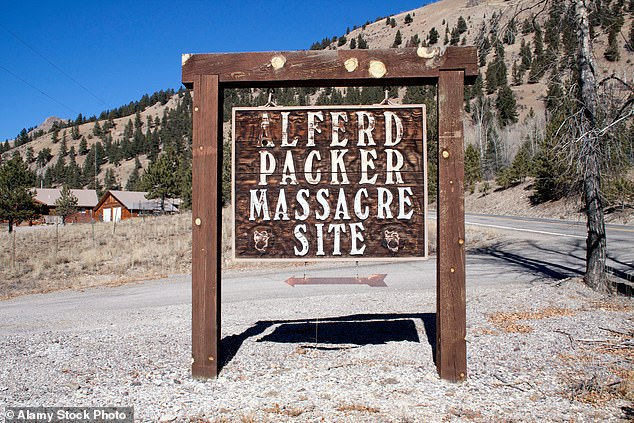 The site of Packer's crimes has now been publicly marked for tourists near the town of Lake City, Colorado