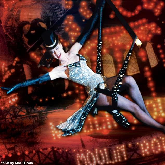 Sexy: Clara will undoubtedly be getting into character for her Moulin Rouge dance (pictured Nicole Kidman as Satine in the 2001 film)