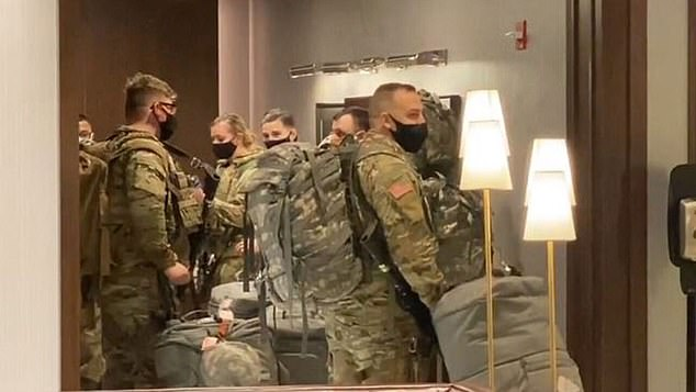 Troops arriving in Chicago on Monday night ahead of Tuesday's election