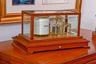 Lord Dannatt once gifted this barograph to his late father