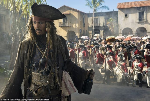 The fact is that Johnny Depp (pictured in Pirates of the Caribbean), 57, sought a legal battle in the UK courts — and lost.
