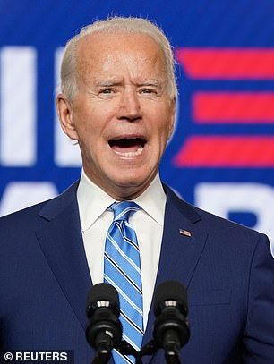 Most major national polls showed Joe Biden with a commanding lead over Donald Trump going into Election Day