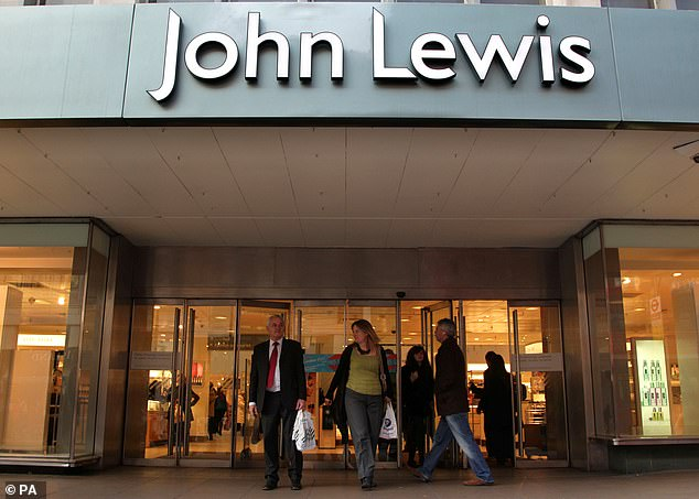 Job losses: On Wednesday, John Lewis announced that it plans to cut up to 1,500 head office jobs by April next year