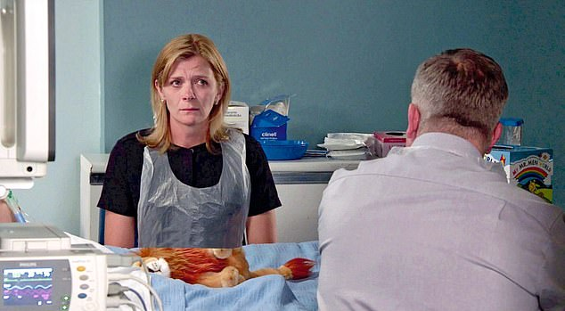 In Coronation Street Steve decides he can't support Leanne's appeal over Oliver's life support