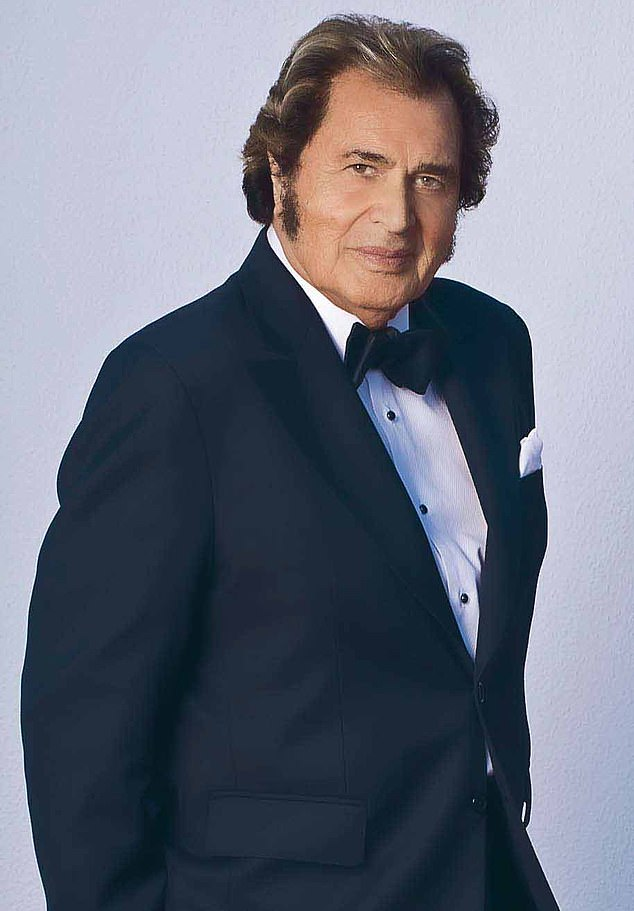 Engelbert Humperdinck, 84, (pictured) shared the stories behind a selection of his favourite photos