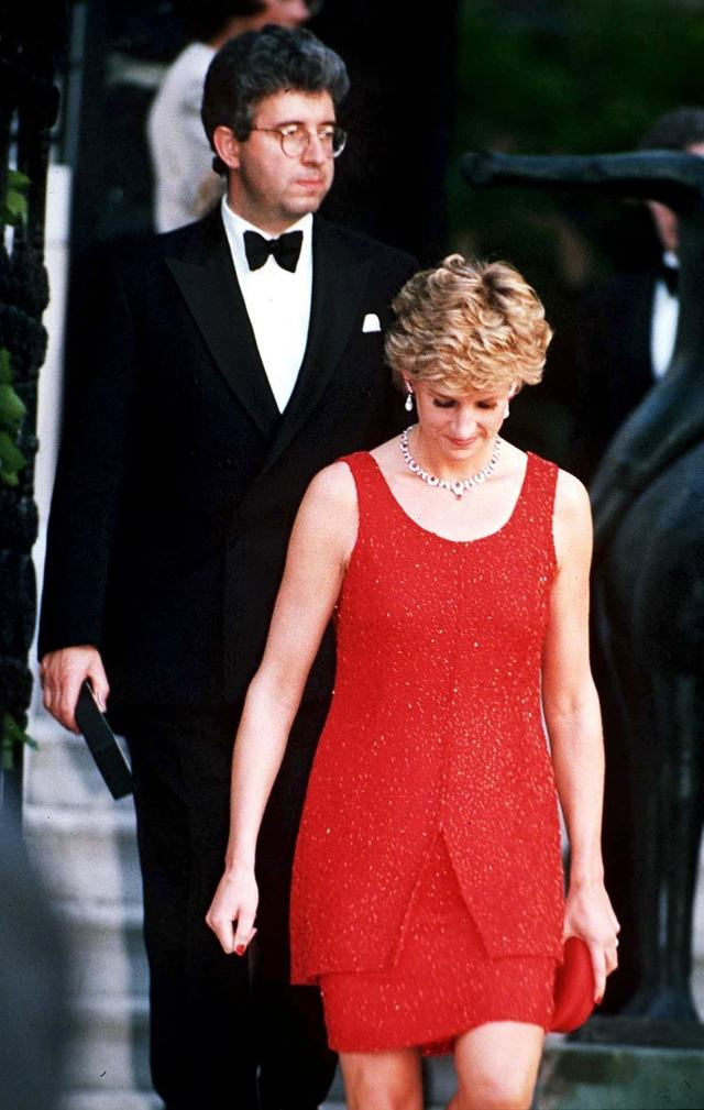 Even now, the words Earl Spencer uttered at the funeral of his sister Princess Diana (pictured with Patrick Jephson) have lost none of their power