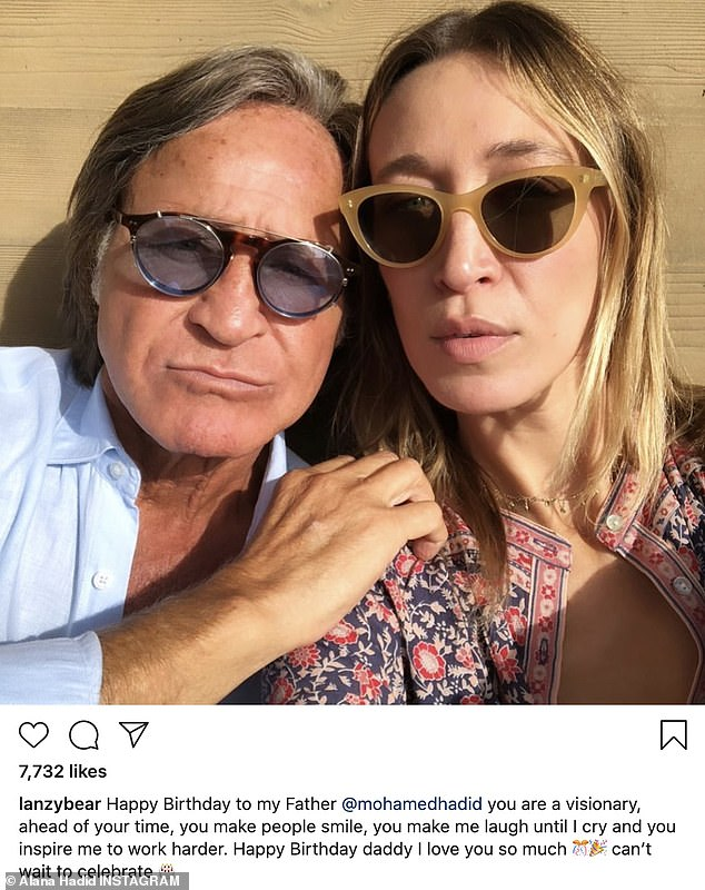 Father–daughter time: Over on Instagram, Alana shared a sweet birthday message to her father, along with photo of the two of them in stylish sunglasses