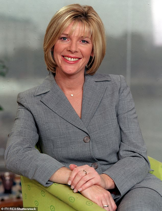 Thinking back: She was discussing her experiences of sexism within the working world when she opened up about the inappropriate touching, of which she was a victim (Pictured in 1999)