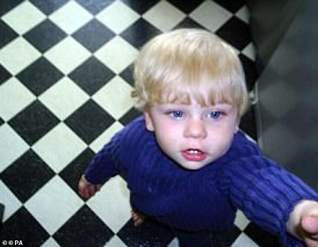 Baby P, pictured, died in 2008 after social workers failed to take the 17-month-old boy into care and left him with his mother