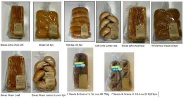 Shoppers who purchased in-house baked bread from Woolworths Calwell, in ACT, are urged not to eat the bread
