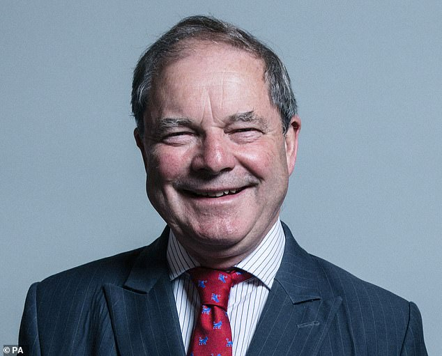 Sir Geoffrey Clifton-Brown MP (pictured), a member of the Public Accounts Committee, said: 'I understand there are fewer checks on borrowers initially because of the need to get cash quickly to businesses